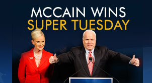 mccain wins super tuesday